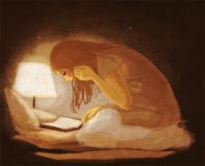 leer noche