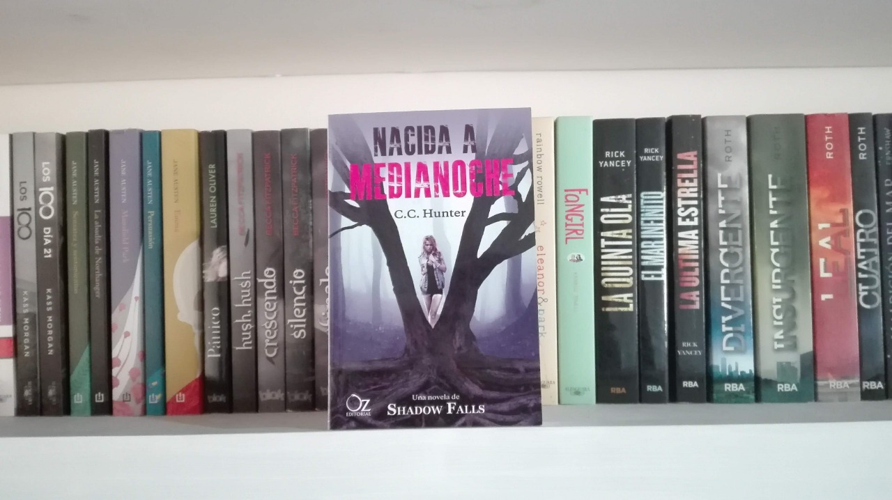 RESEÑA #129: NACIDA A MEDIANOCHE (SHADOW FALL #1) de C.C. HUNTER ~ Sofía