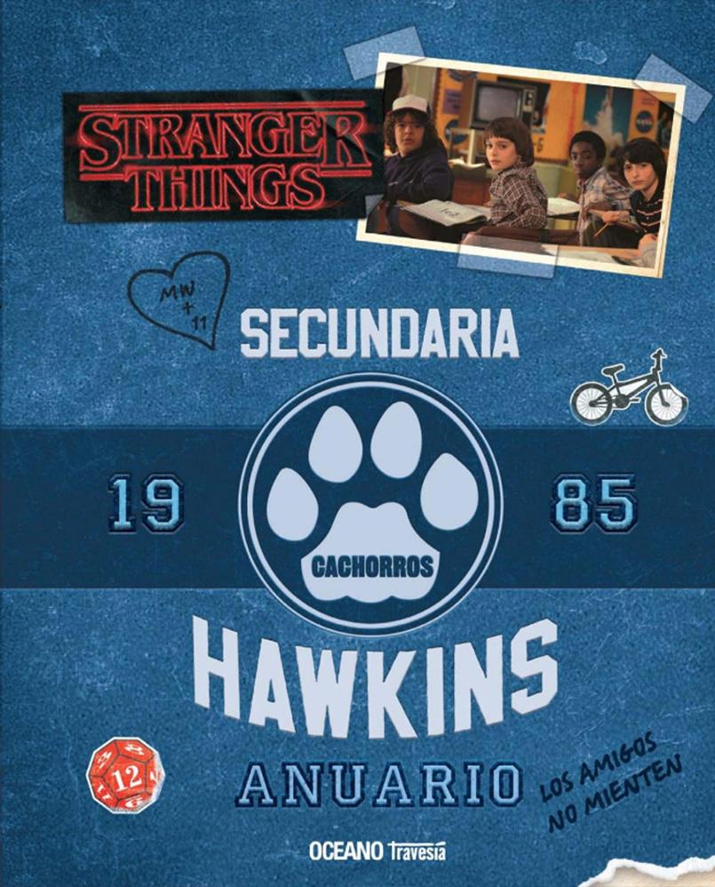 RESEÑA #128: STRANGER THINGS 2 ANUARIO 1985 + COMO SOBREVIVIR AL MUNDO DE STRANGER THINGS ~ Agustina
